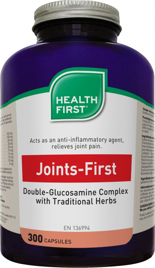 Joints-First / 300 capsules / Health First / Grande Ruche
