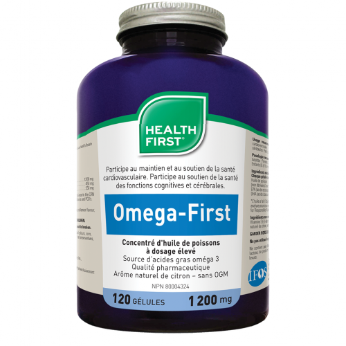 Omega-First / 120 gélules / Health First