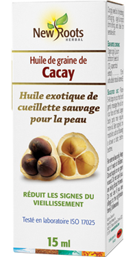 Huile de cacay bio / 30ml / New roots / Grande Ruche
