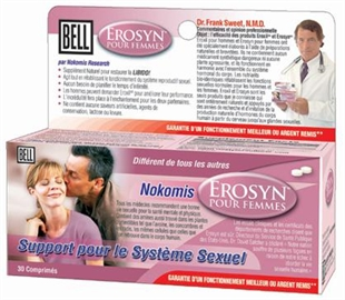 Erosyn / 30 capsules végétales / Bell Lifestyle / Grande Ruche